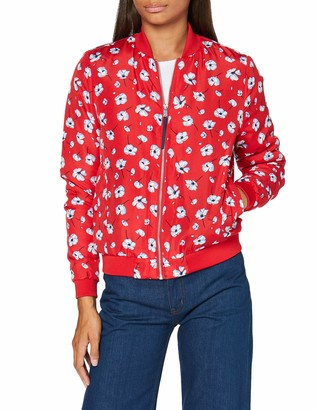 Springfield Women's Int.3.Bomber Print Acolch-c/65 Track Jacket