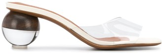 Neous Rounded Heel Sandals
