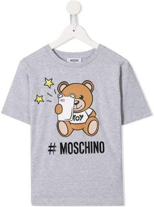 MOSCHINO BAMBINO Teddy Selfie T-shirt