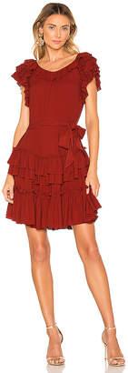 Marissa Webb Elio Crepe Mini Dress