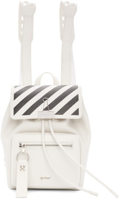 Off-White Off White White Diag Backpack