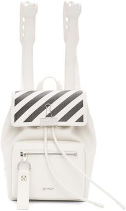 Off-White White Diag Backpack