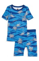 Tea Collection Boy's Loggerhead Turtle Fitted Two-Piece Pajamas