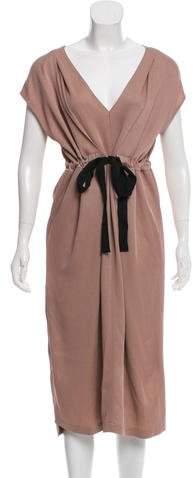Zero Maria Cornejo Pleat Nola Dress w/ Tags