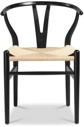 Apt2B Sylmar Side Chair BLACK/CHOICE OF SEAT COLOR - SET OF 2