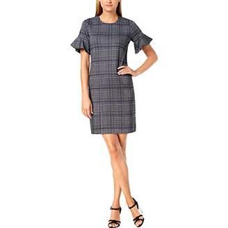 Calvin Klein Women's Flutter Sleeve Shift Dress