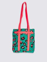 Marks and Spencer Kids' Pure Cotton Printed Shopper Bag