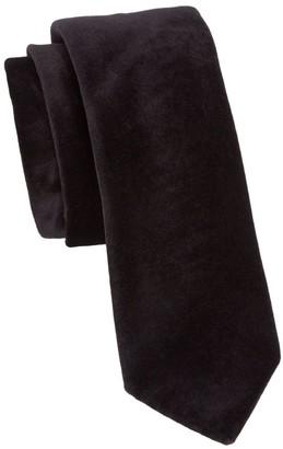 Saks Fifth Avenue COLLECTION Solid Silk-Velvet Tie
