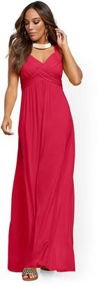 "New York & Co. Petite ""Goddess"" Maxi Dress"