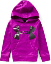 Under Armour Little Girls 4-6X Rush Big Icon Logo Hoodie