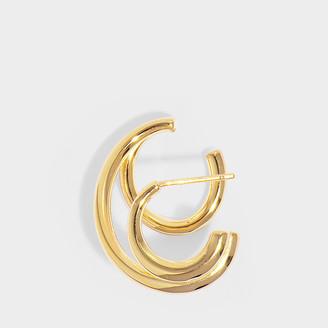 Charlotte Chesnais Triplet Mono Earring In Vermeil