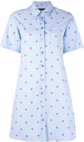 Moschino printed shirt dress - women - Cotton - 38