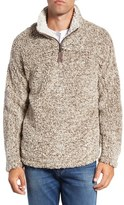 True Grit Men's High Pile Quarter Zip Pullover