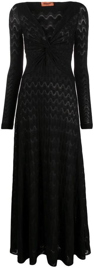 Missoni Lace V-Neck Dress