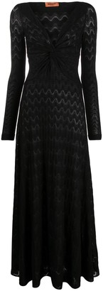 Missoni Lace V-Neck Dress