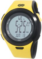 Soleus Men's SR010901 Ultra Sole Digital Dial with Yellow and Black Polyurethane Strap Watch