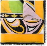 Emilio Pucci geometric print scarf