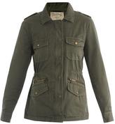 Lily Aldridge Army jacket