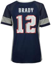Majestic Women's Tom Brady New England Patriots 2017 Draft Him T-Shirt
