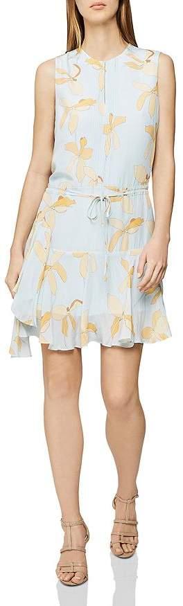 Reiss Sienna Floral-Print Dress
