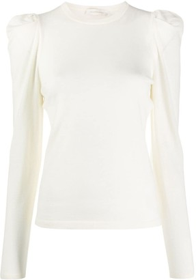 Zimmermann Structured Knitted Top