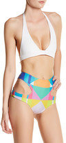 Mara Hoffman Diamond High Waist Bikini Bottom