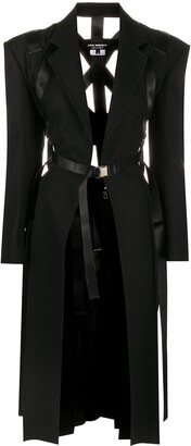 Junya Watanabe Belted Harness Detail Coat