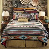 Veratex Santa Fe Collection 100% Polyester Bedroom Comforter Set, King Size, Southwestern