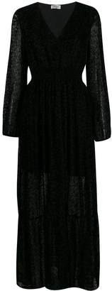 Liu Jo animal print maxi dress