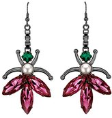 Mawi Love Bug Hook Earrings with Pearls