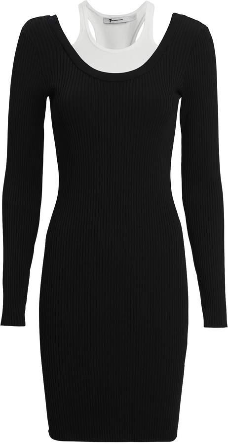 Alexanderwang.T Bi-Layer Mini Dress