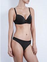 Passionata Beautify patterned-knit push-up bra