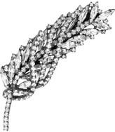Jennifer Behr Feather Swarovski crystal hairclip