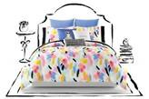 Kate Spade Paintball Floral Comforter & Sham Set