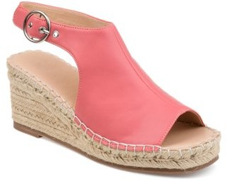 Brinley Co. Womens Wedge Sandals