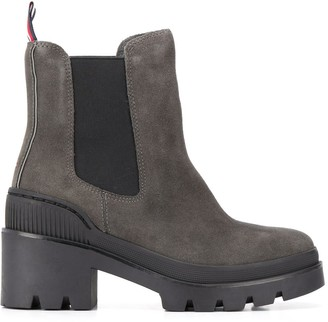 Tommy Hilfiger chunky heel boots