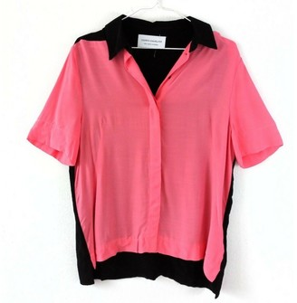 Cédric Charlier Pink Viscose Tops
