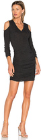 Lanston Cutout Dress in Charcoal. - size XS (also in )