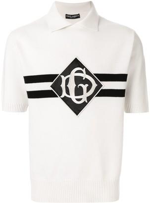 Dolce & Gabbana Henley cashmere polo shirt