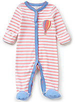 Starting Out Baby Boy Newborn-6 Months Striped Air Balloon Coverall