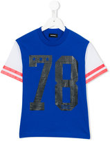 Diesel raglan varsity t-shirt