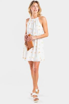 Deanna Floral Flawless Dress - Cream