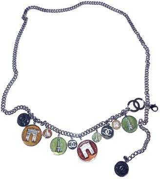 Chanel Multicolour Metal Belts