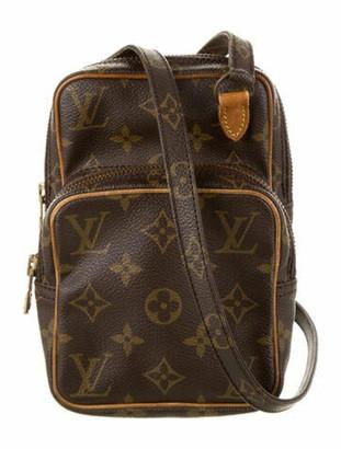 Louis Vuitton Vintage Monogram Mini Amazone Bag Brown
