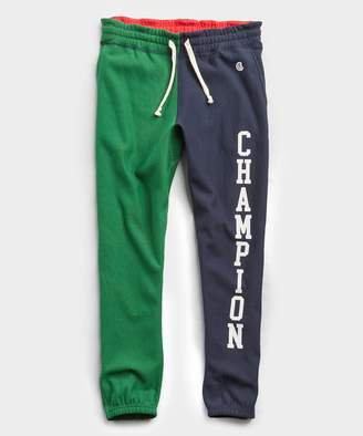 Todd Snyder + Champion Terry Color Block Champion Classic Sweatpant