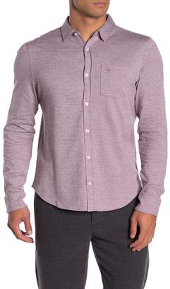 Original Penguin Long Sleeve Jasper Knit Shirt