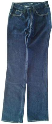 Armani Jeans Navy Cotton Jeans for Women