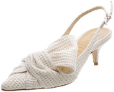 Schutz White Heel Shoes