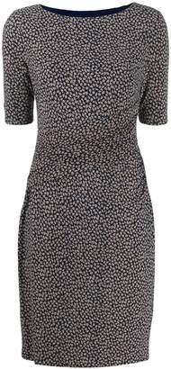 Lauren Ralph Lauren leaf print midi dress