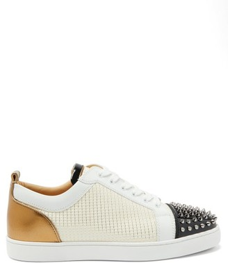 Christian Louboutin Louis Junior Spike-embellished Trainers - Multi